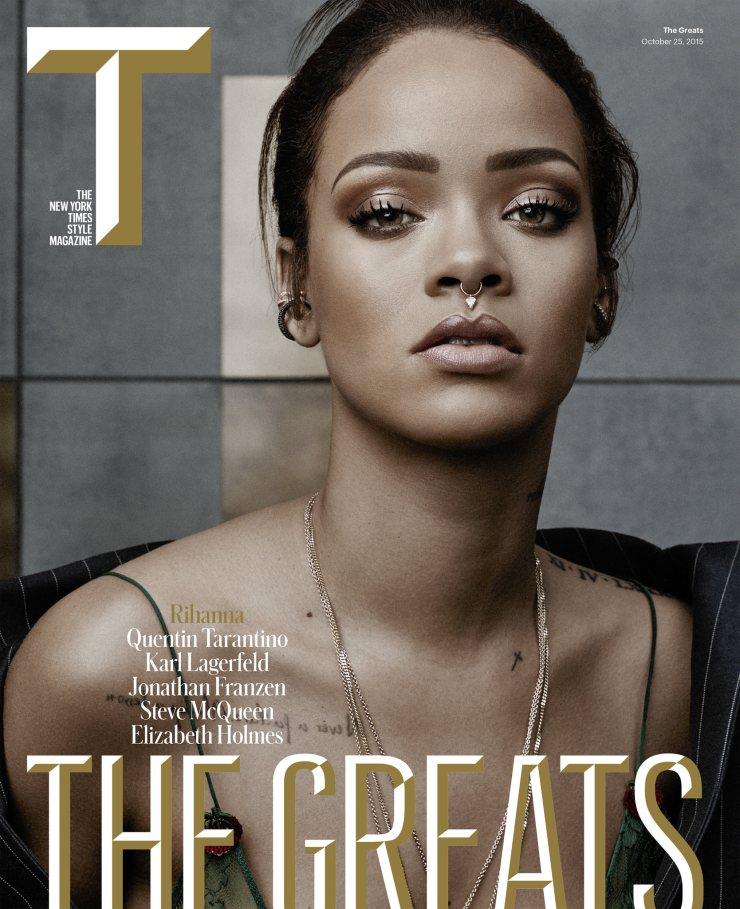 Rihanna by Craig McDean for The New York Times Style Magazine October 2015 (1)