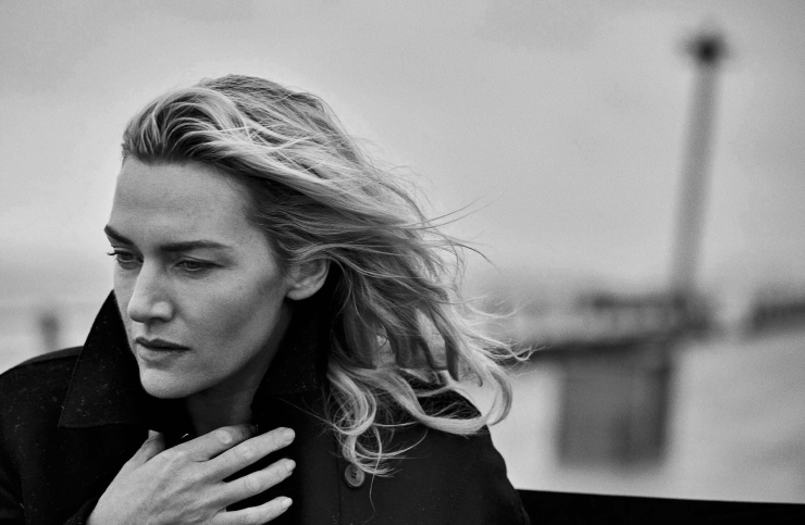 Kate Winslet by Peter Lindbergh for Vogue Italia November 2015