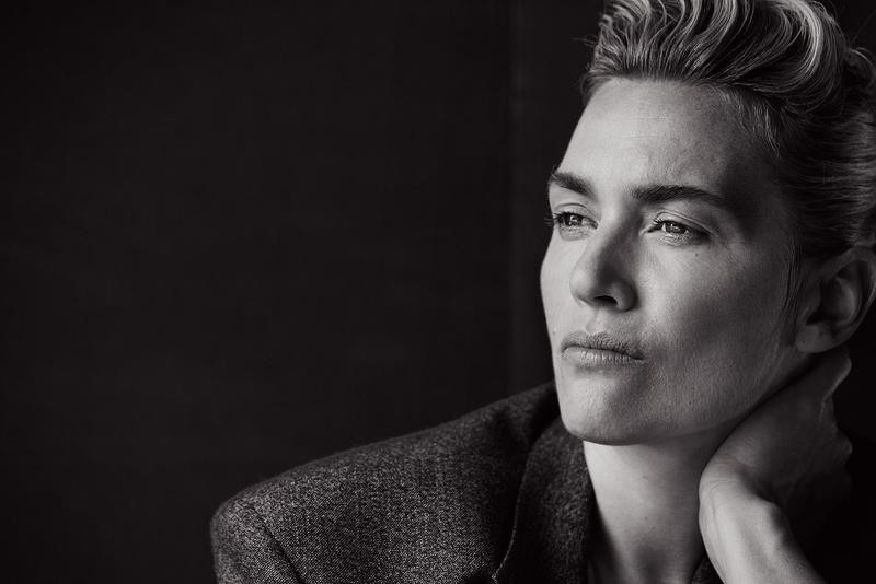 Androgynous Kate Winslet By Peter Lindbergh For L'uomo Vogue November 2015 (1)