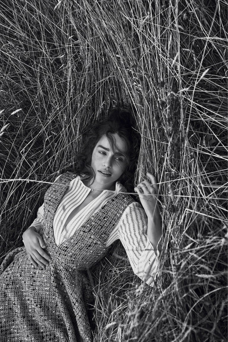 Emilia Clarke by Lachlan Bailey for Dior Magazine Winter ...