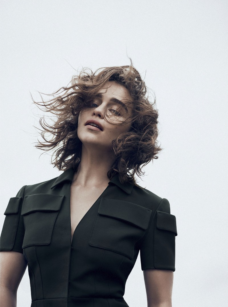 Emilia Clarke By Lachlan Bailey For Dior Magazine Winter 2015 (5)