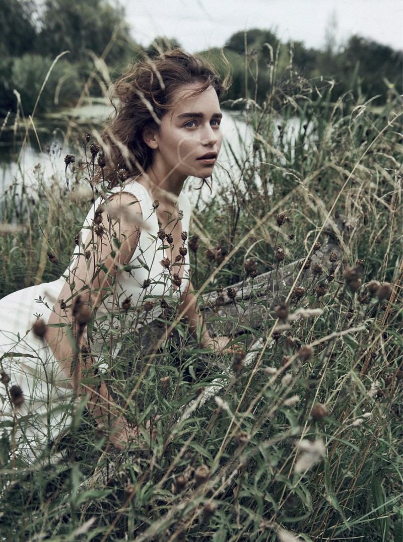 Emilia Clarke By Lachlan Bailey For Dior Magazine Winter 2015 (6)