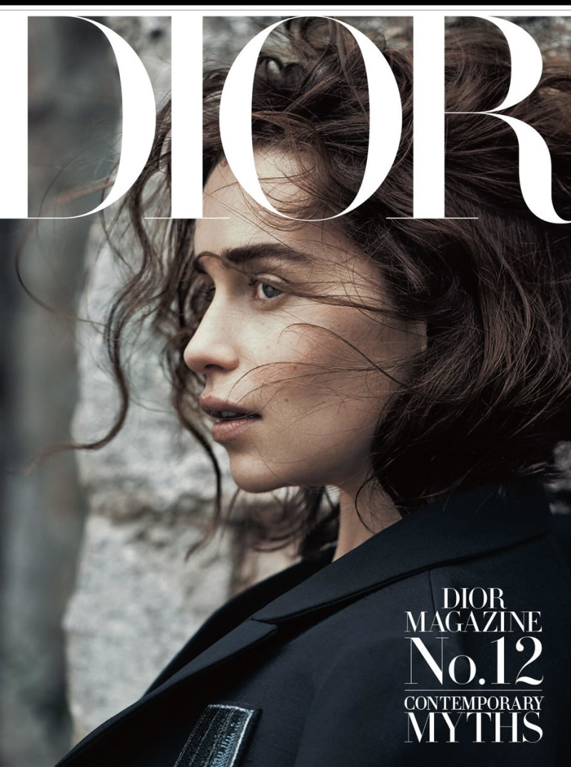Emilia Clarke By Lachlan Bailey For Dior Magazine Winter 2015 (9)
