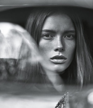 Julia Hafstrom by Lachlan Bailey for Vogue Australia January 2016