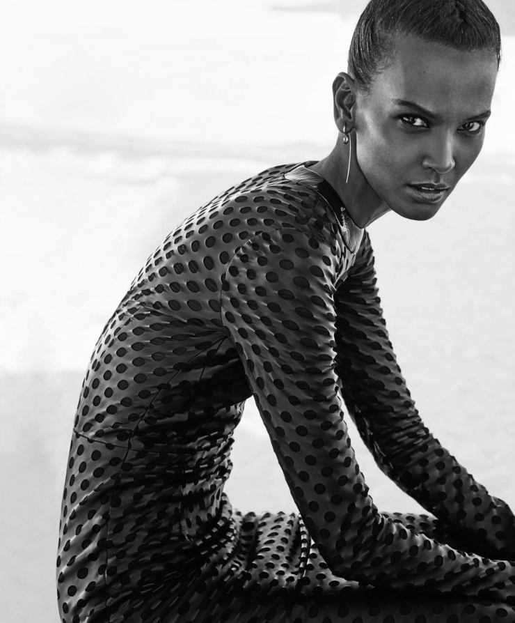 Liya Kebede by Chris Colls for Porter Magazine Winter Escape 2015 (4)