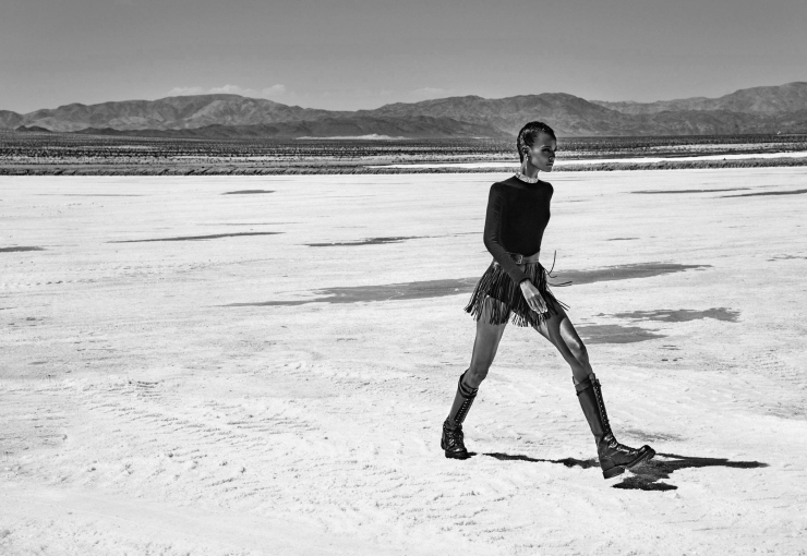 Liya Kebede by Chris Colls for Porter Magazine Winter Escape 2015 (7)