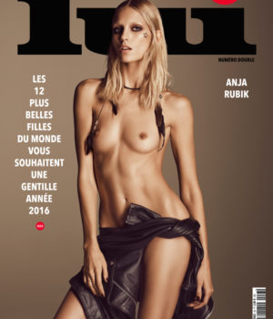 12 Covers Of Lui Magazine December-January 2015-2016 Issue