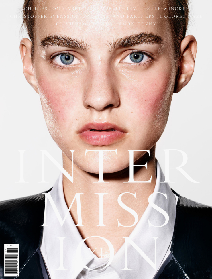 Maartje Verhoef by Richard Burbridge for Intermission Magazine Fall-Winter 2015 (1)