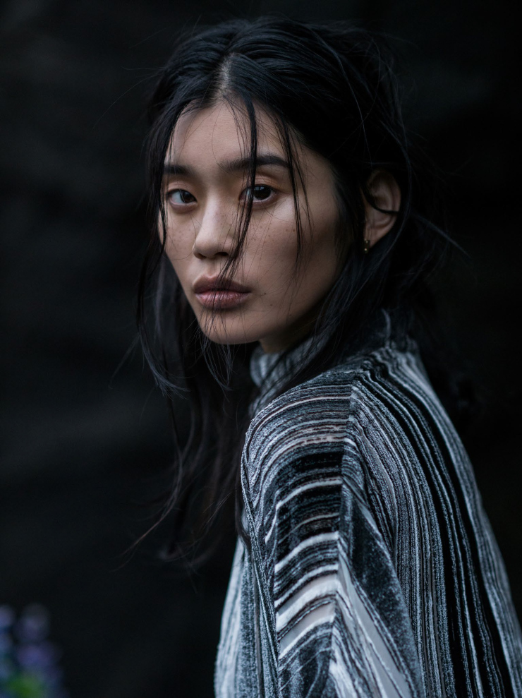 Ming Xi by Gilles Bensimon for Vogue China January 2016 (8)