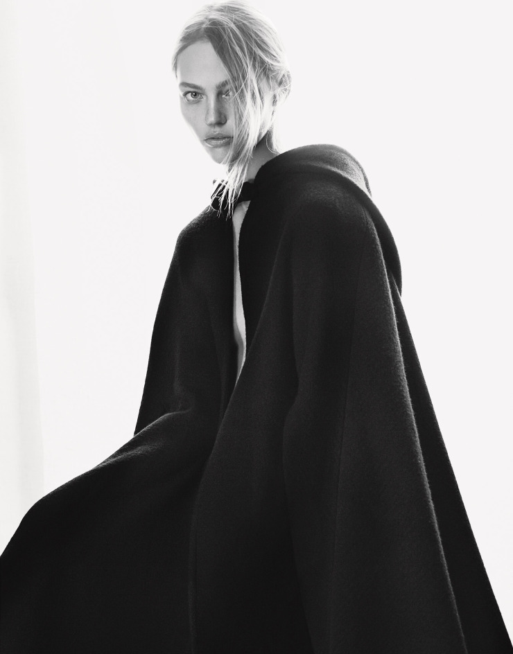 Sasha Pivovarova by Erik Torstensson for Porter Magazine Winter 2015 (4)