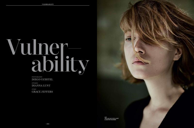 Vulnerability Lou Schoof By Diego Uchitel For Monrowe Magazine December 2015 + Video (2)