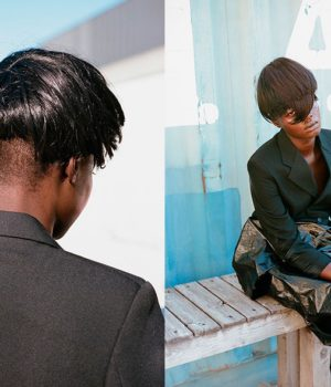 ALUAD DENG BY THOMAS VAN DER ZAAG FOR CONTRIBUTOR MAGAZINE