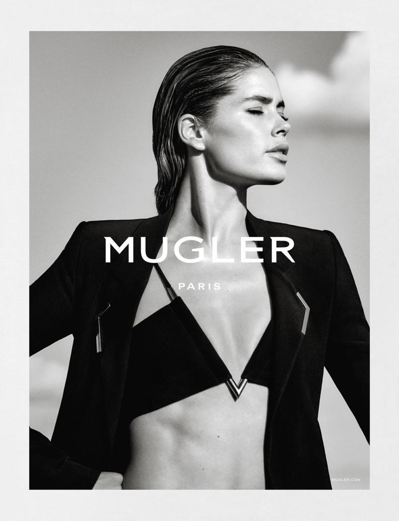 Doutzen Kroes For Mugler Spring-Summer 2016 Ad Campaign (1)