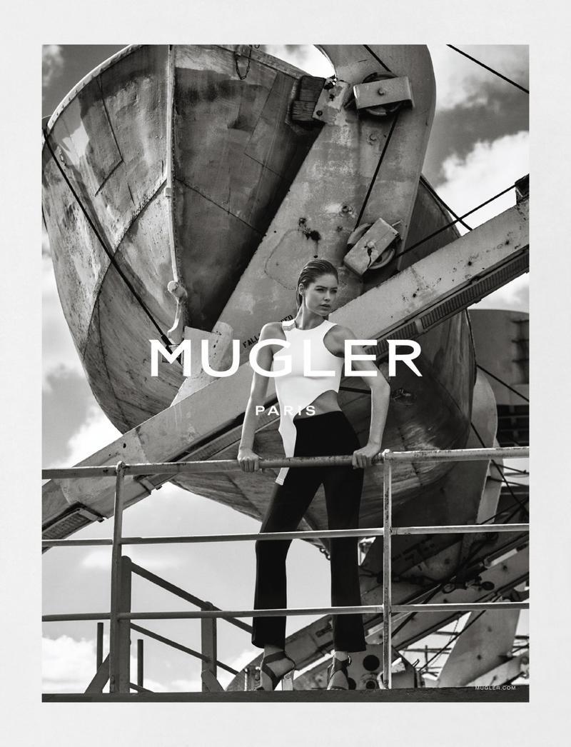 Doutzen Kroes For Mugler Spring-Summer 2016 Ad Campaign (2)