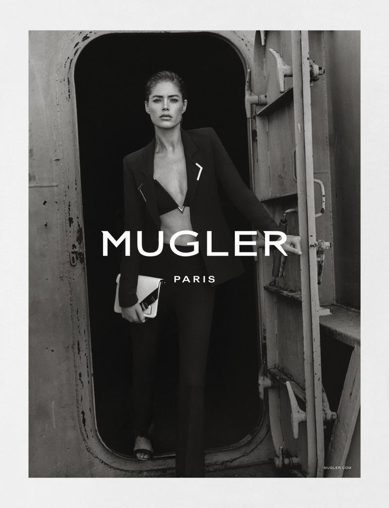 Doutzen Kroes For Mugler Spring-Summer 2016 Ad Campaign (3)