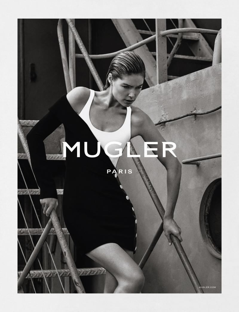 Doutzen Kroes For Mugler Spring-Summer 2016 Ad Campaign (4)