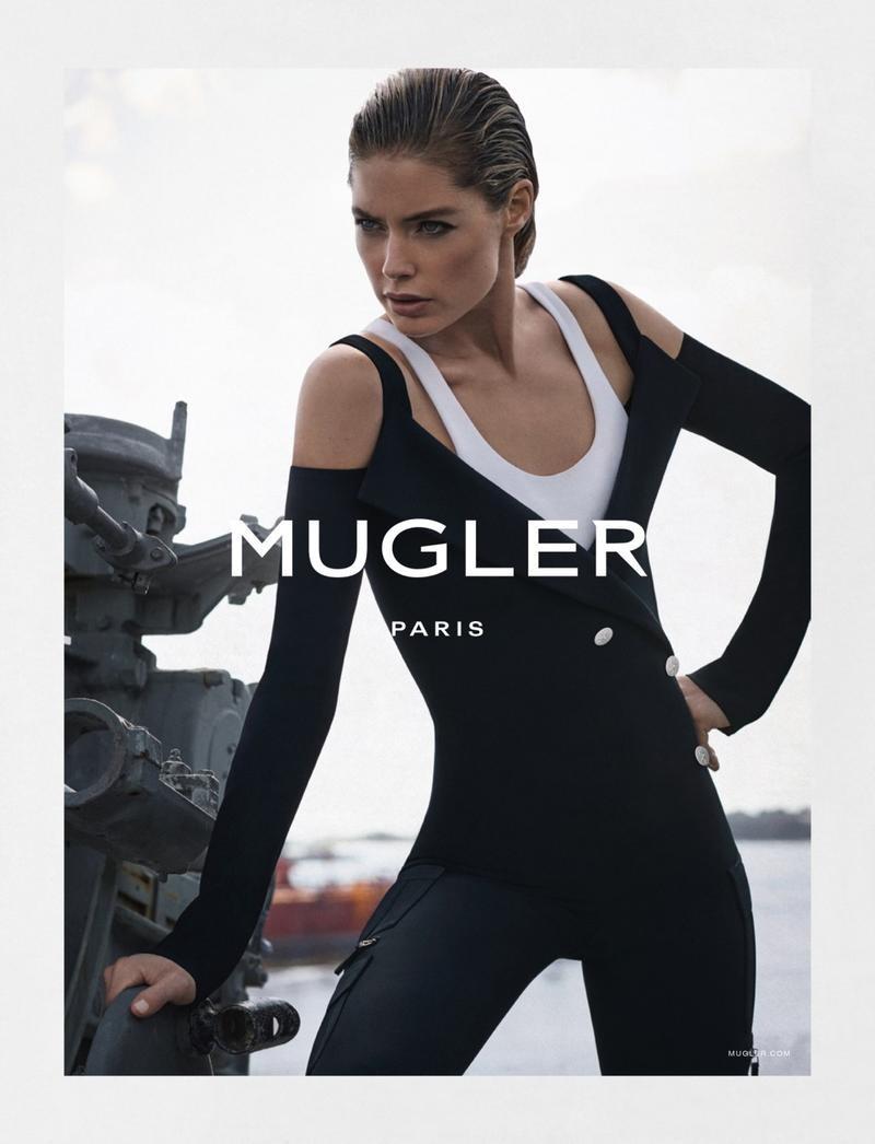 Doutzen Kroes For Mugler Spring-Summer 2016 Ad Campaign (5)