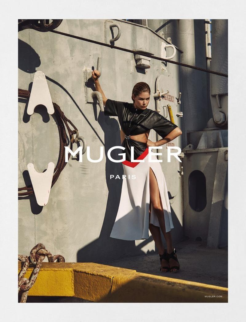 Doutzen Kroes For Mugler Spring-Summer 2016 Ad Campaign (6)