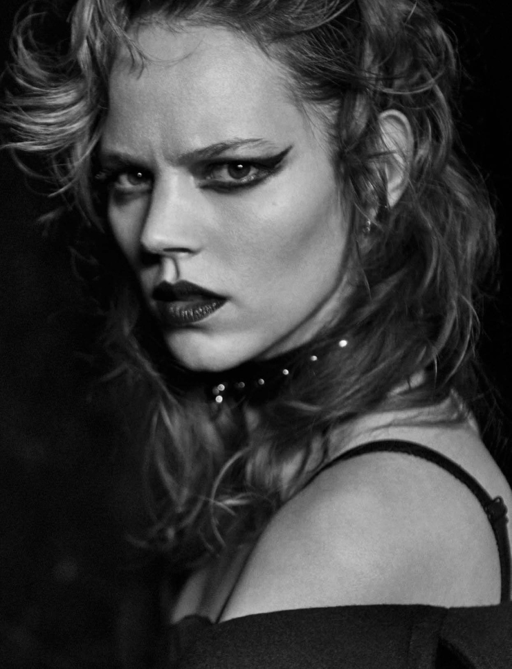 Freja Beha Erichsen by Peter Lindbergh for Vogue Italia January 2016 (3)