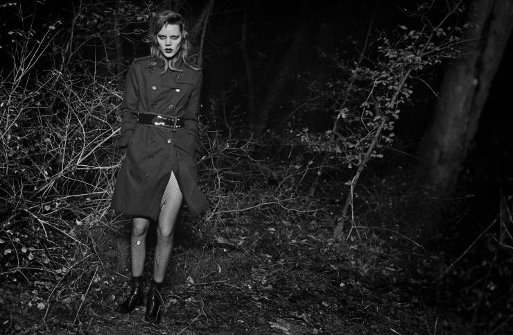 Freja Beha Erichsen by Peter Lindbergh for Vogue Italia January 2016 (4)