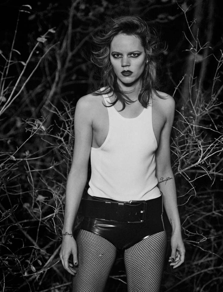 Freja Beha Erichsen by Peter Lindbergh for Vogue Italia January 2016 (5)