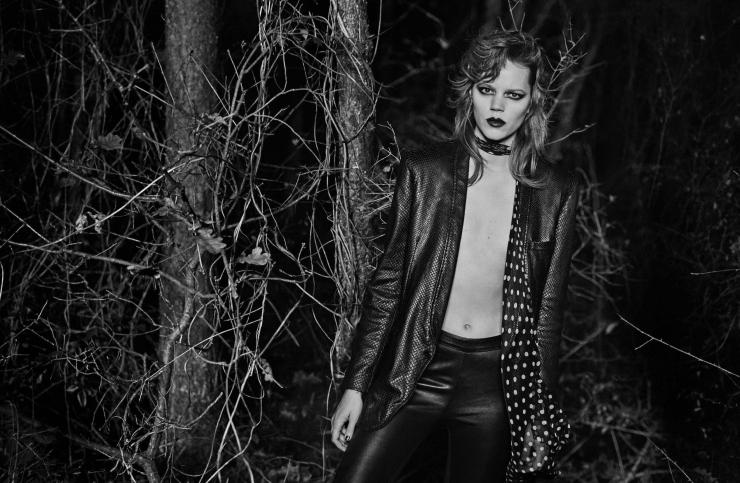 Freja Beha Erichsen by Peter Lindbergh for Vogue Italia January 2016 (7)