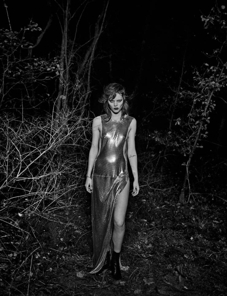Freja Beha Erichsen by Peter Lindbergh for Vogue Italia January 2016 (9)
