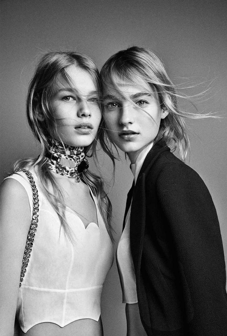 Roos Abels, Maartje Verhoef, Sofia Mechetner by Patrick Demarchelier for Dior Spring Summer 2016 (3)