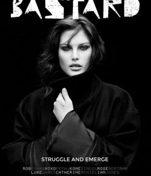 BASTARD FANZINE MAGAZINE VOLUME ONE COVERS: STRUGGLE AND EMERGE