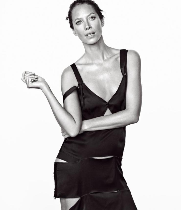 christy turlington by mikael jansson for wsj magazine march 2016   visual