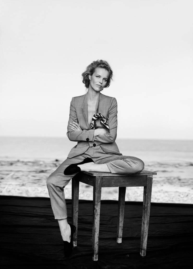 Giorgio Armani New Normal Spring-Summer 2016 Ad Campaign_Peter Lindbergh_Eva Herzigova, Nadja Auermann, Stella Tennant, Yasmin Le Bon (10)