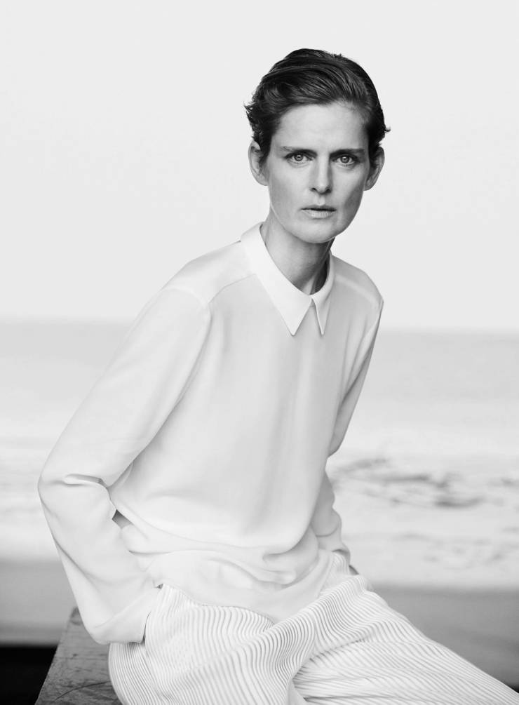 Giorgio Armani New Normal Spring-Summer 2016 Ad Campaign_Peter Lindbergh_Eva Herzigova, Nadja Auermann, Stella Tennant, Yasmin Le Bon (2)