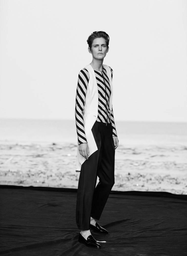 Giorgio Armani New Normal Spring-Summer 2016 Ad Campaign_Peter Lindbergh_Eva Herzigova, Nadja Auermann, Stella Tennant, Yasmin Le Bon (9)