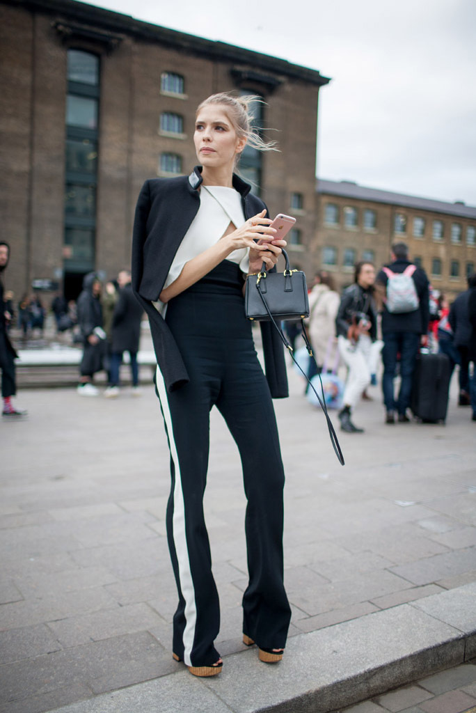 London Fashion Week Fall 2016 Classic Street Style