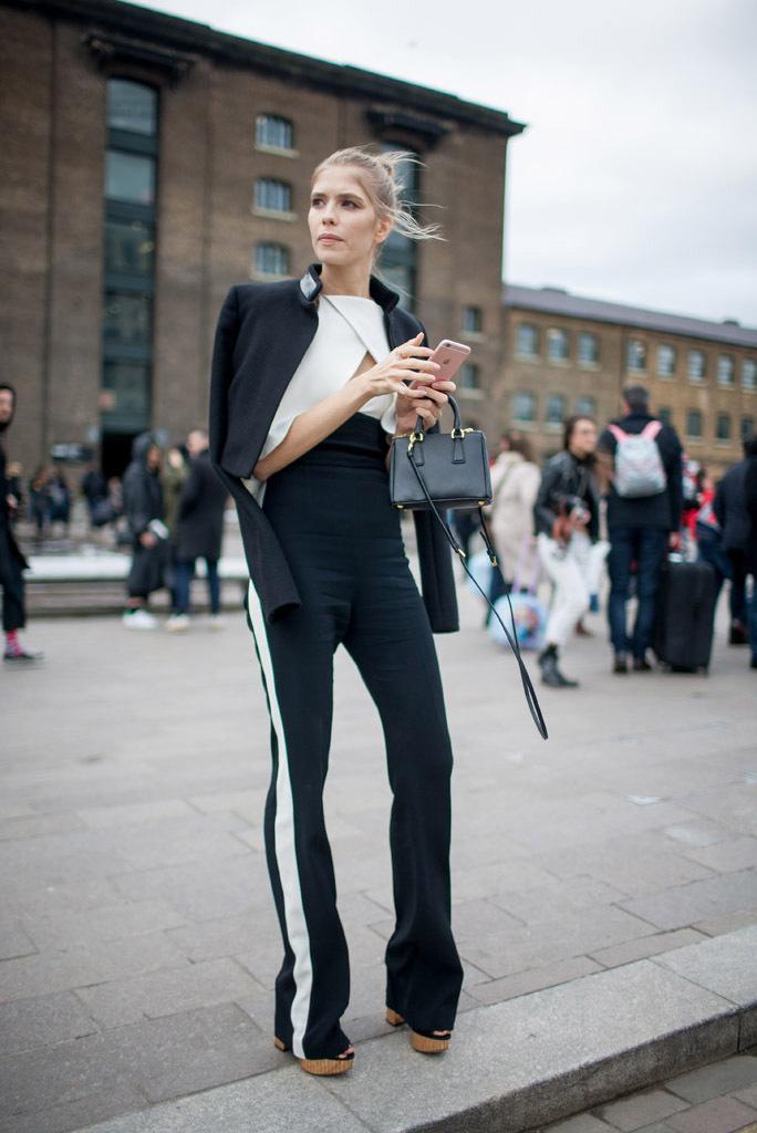 London Fashion Week Fall 2016 Classic Street Style Minimal Visual