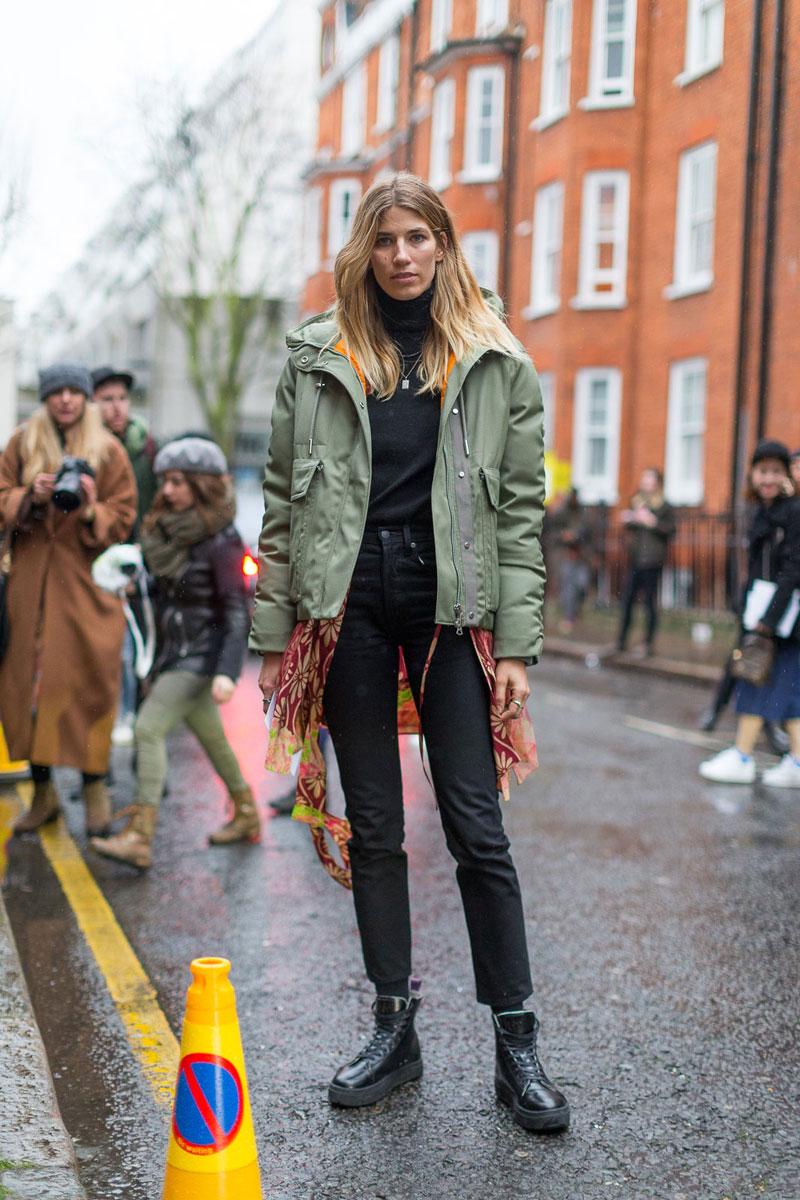London Fashion Week Fall 2016 Street Style 33 Minimal