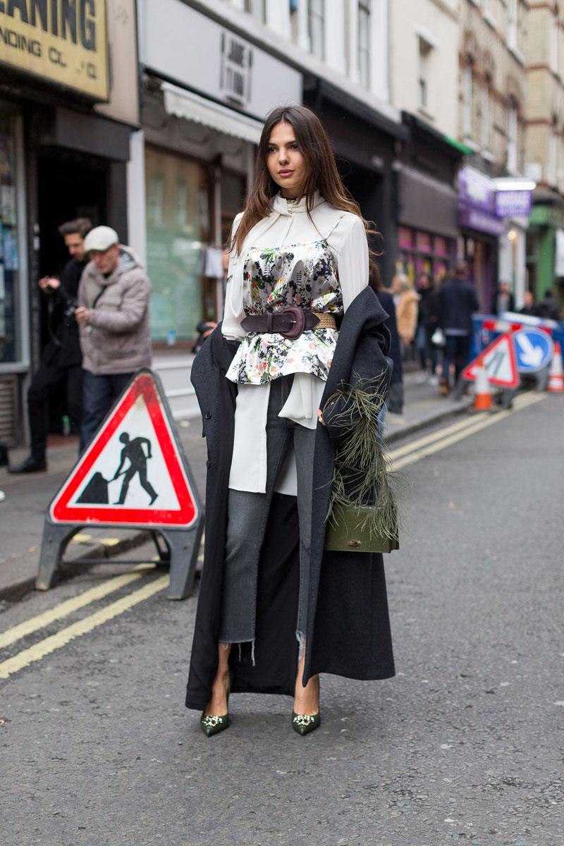 London Fashion Week Fall 2016 Street Style 56 Minimal Visual