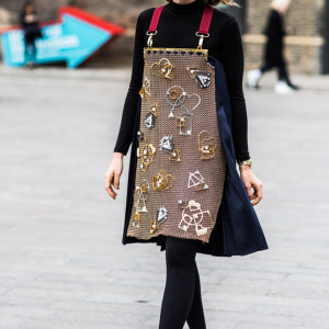London Fashion Week Fall 2016 Street Style Minimal