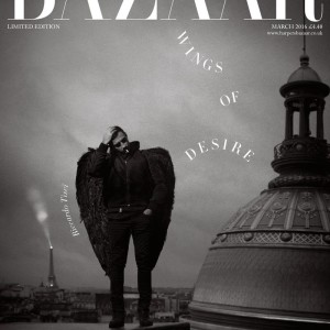 RICCARDO TISCI FOR HARPER'S BAZAAR UK MARCH 2016 LIMITED EDITION ISSUE COVER