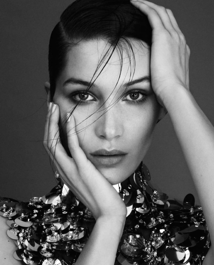 Bella Hadid by Txema Yeste for Harper's Bazaar Spain April 2016