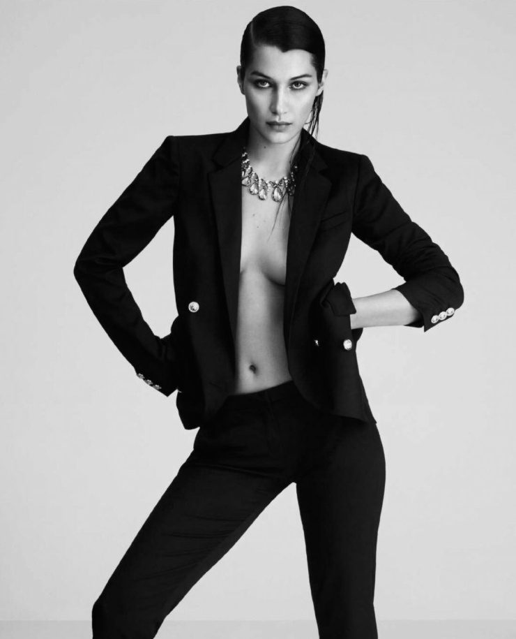 Bella Hadid For Harper's Bazaar Spain April 2016