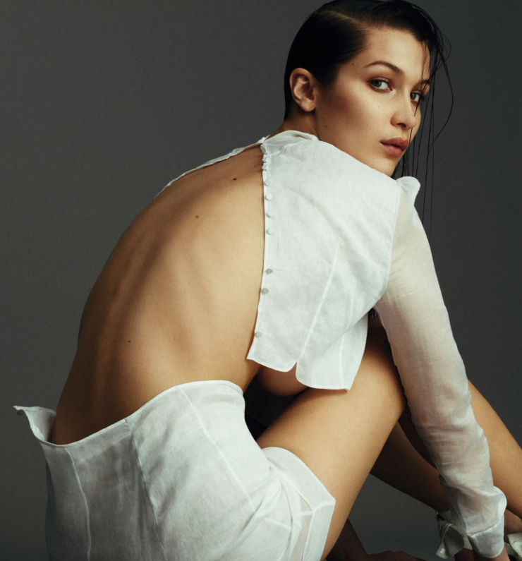 Bella Hadid For Harper's Bazaar Spain April 2016