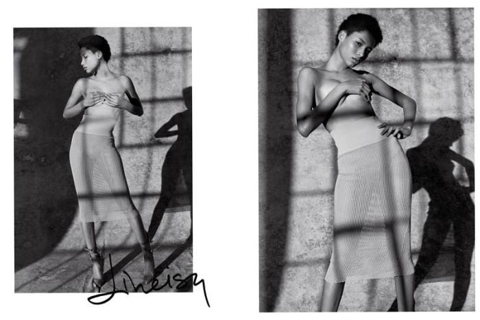 Lineisy Montero By Sante D'orazio x Carine Roitfeld For CR Fashion Book Spring-Summer 2016