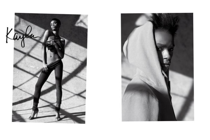 Kayla Scott By Sante D'orazio x Carine Roitfeld For CR Fashion Book Spring-Summer 2016