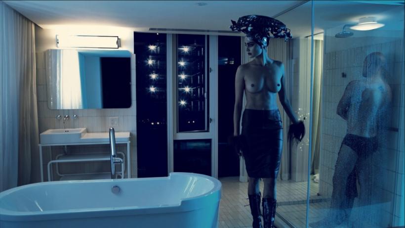 Emma Heming & Bruce Willis By Steven Klein For W Magazine July 2009 Honeymoon Hotel (2)