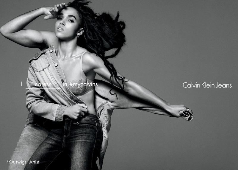 FKA TWIGS FOR CALVIN KLEIN JEANS SPRING 2016 AD CAMPAIGN ...