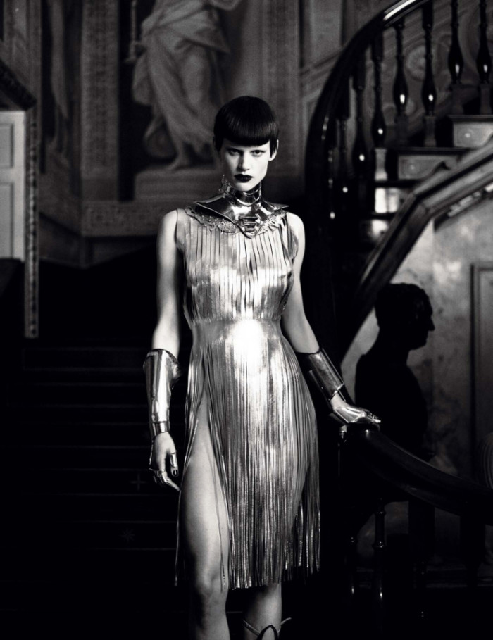 Saskia de Brauw & Elise Crombez by Mert Alas & Marcus Piggott For Interview Magazine March 2012 (3)