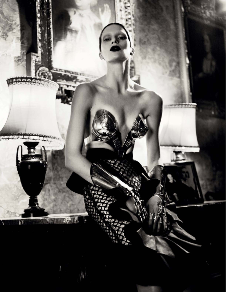 Saskia de Brauw & Elise Crombez by Mert Alas & Marcus Piggott For Interview Magazine March 2012 (4)