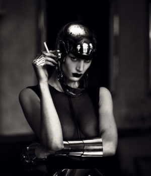 Metal Headz by Mert Alas & Marcus Piggott For Interview Magazine March 2012