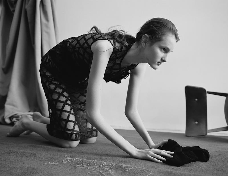 Viola Podkopaeva By Benjamin Vnuk For Supplement Magazine Spring-Summer 2016 (2)